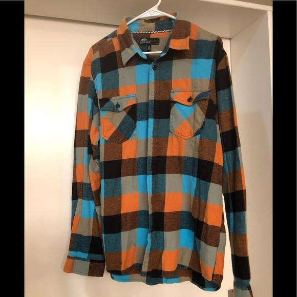 24f36f19 Vans flannel checkered long sleeve~ men's xl